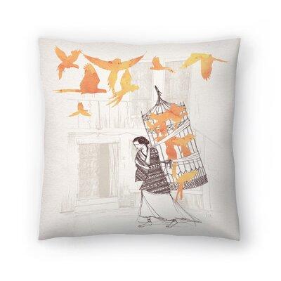 Frida Throw Pillow Size: 20 x 20
