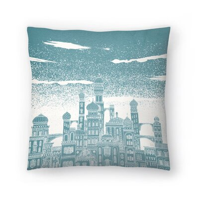 Neptune Throw Pillow Size: 14
