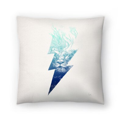 King Of The Clouds Throw Pillow Size: 20 x 20