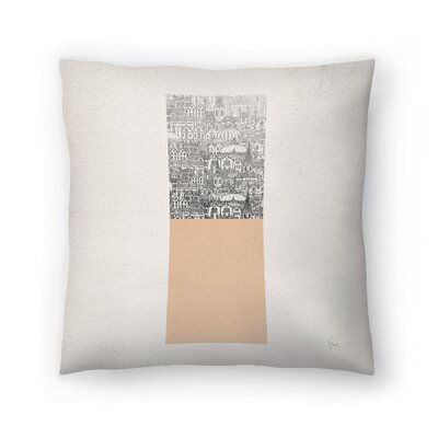 Rectangle Throw Pillow Size: 18 x 18