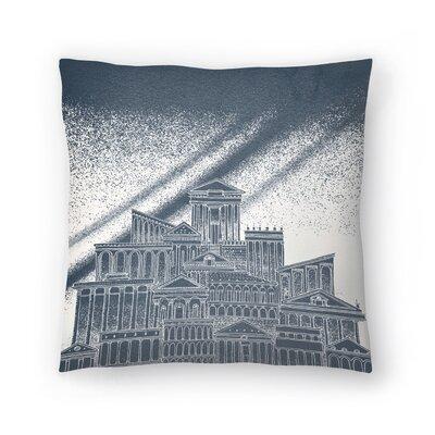 Saturn Throw Pillow Size: 20 x 20