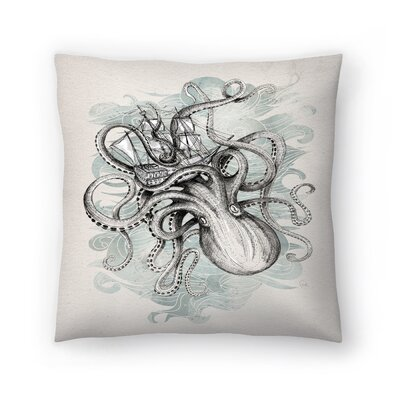 The Baltic Sea Throw Pillow Size: 18 x 18