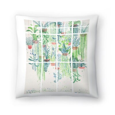 Winter in Glasshouses 2 Throw Pillow Size: 20 x 20
