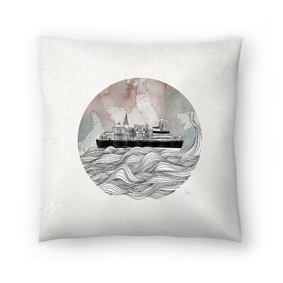 Almost Home Throw Pillow Size: 20 x 20