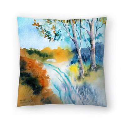 Autumn Frost Throw Pillow Size: 14 x 14