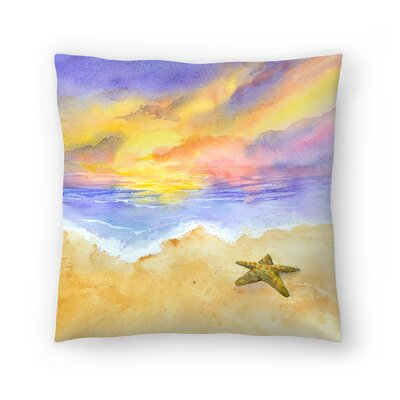Lone Star Throw Pillow Size: 14 x 14