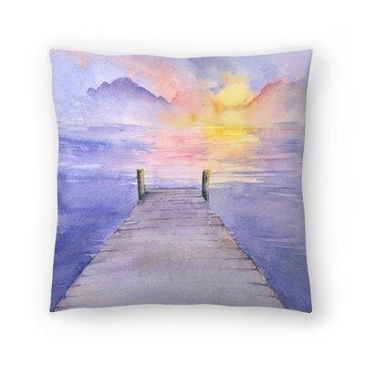 Sundown Throw Pillow Size: 14 x 14