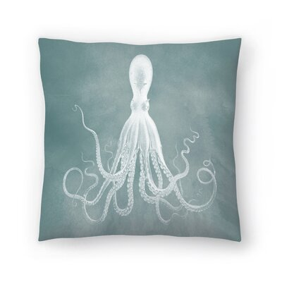 Mil Lenial White Octo Throw Pillow Size: 18 x 18, Color: Gray / White