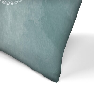 Octo Lumbar Pillow Size: 14 x 20, Color: Dark Sea Foam