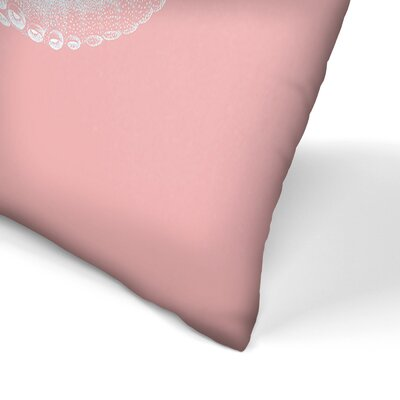 Octo Lumbar Pillow Size: 10 x 14, Color: Millennial Pink