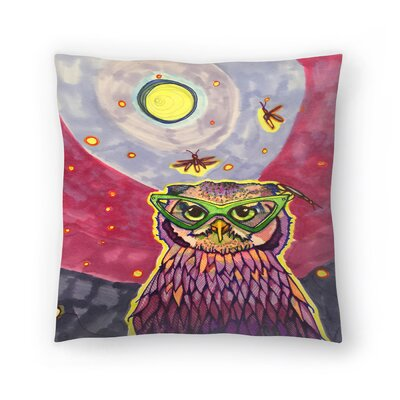 Owl Dr Sooz Hoot Throw Pillow Size: 14 x 14