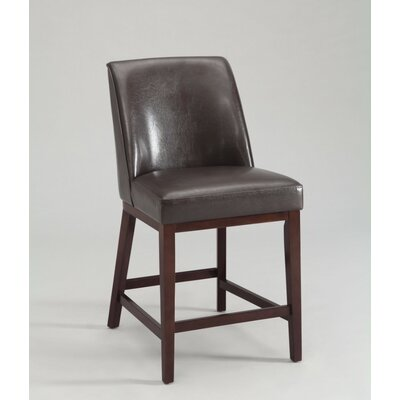 Wolbert Upholstered Dining Chair Upholstery Color: Brown