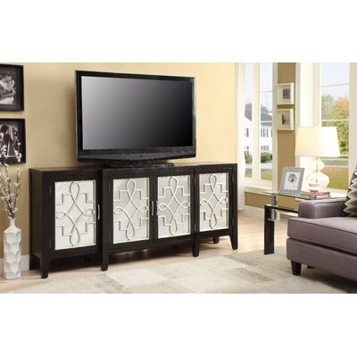 Chanelle 72 TV Stand Color: Brown