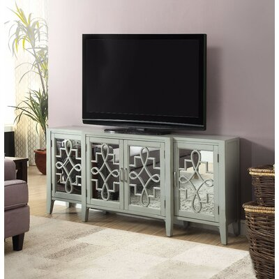 Chanelle 72 TV Stand Color: Gray