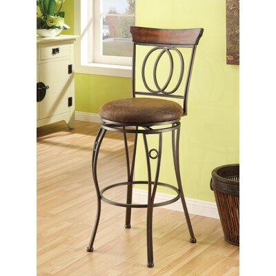 Barton Hill Swivel Bar Stool