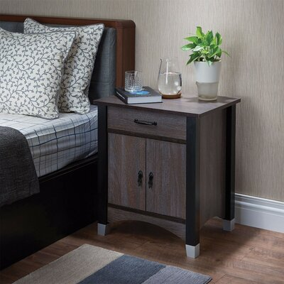 Kellogg 1 Drawer Nightstand