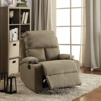 Menon Manual Gilder Recliner Upholstery Color: Sage