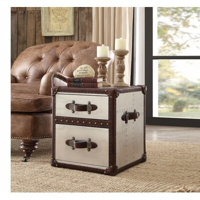Ching 2 Drawer Nightstand
