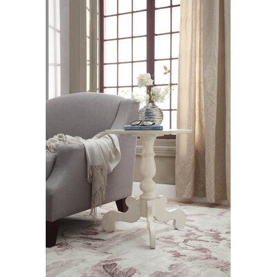 Jansen Antique Slate End Table Table Top Color: White