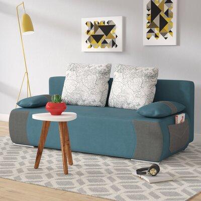 Yaretzi Sleeper Sofa Upholstery: Blue