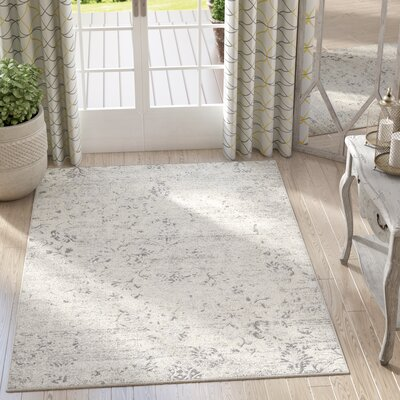 Anise Muted Cream Area Rug Rug Size: 710 x 106