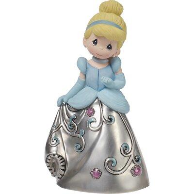 Disney Showcase Princess Cinderella Decorative Bell Resin Zinc Alloy Figurine 172422