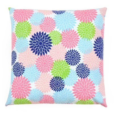 Blooms Pillow Size: 22 x 22
