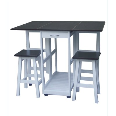 Gaspar 3 Piece Breakfast Nook Dining Set