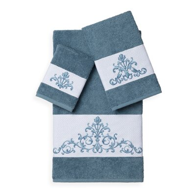Mcloughlin 3 Piece Towel Set Color: Teal