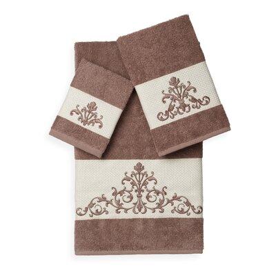 Mcloughlin 3 Piece Towel Set Color: Latte