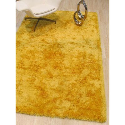 Pearman Hand-Woven Yellow Area Rug Rug Size: Rectangle 5 x 8