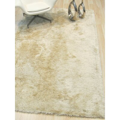 Pearman Hand-Woven Ivory Area Rug Rug Size: Rectangle 89 x 119