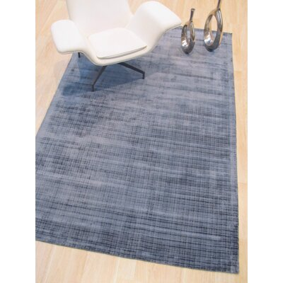 Clarissa Hand-Woven Blue Area Rug Rug Size: Rectangle 89 x 119