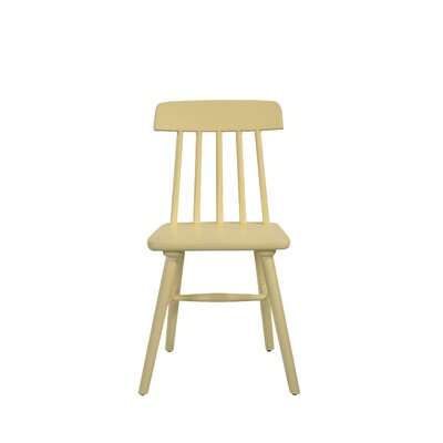 Croswell Armless Dining Chair Color: Yellow