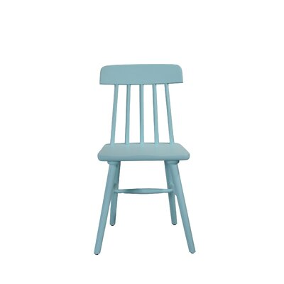 Croswell Armless Dining Chair Color: Sky Blue