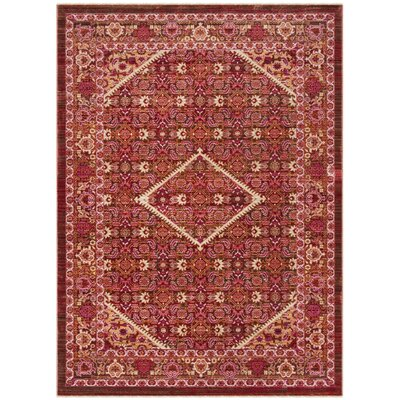 Justine Rust Area Rug Rug Size: Rectangle 4 x 6