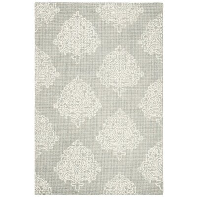 Sulema Hand-Tufted Wool Beige Area Rug Rug Size: Rectangle 9 x 12