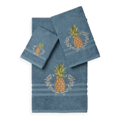 Mcleroy 3 Piece Towel Set Color: Teal