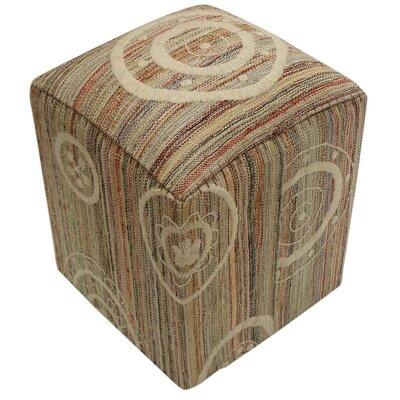 Carmack Modern Wood Frame Ottoman BLMK6638 45000720