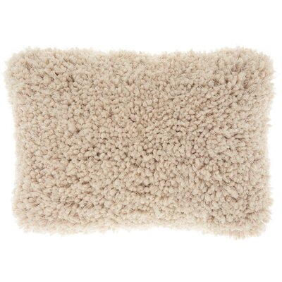 Shanelle Lumbar Pillow Color: Beige