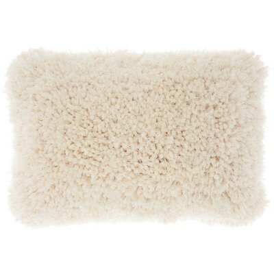 Shanelle Lumbar Pillow Color: Cream