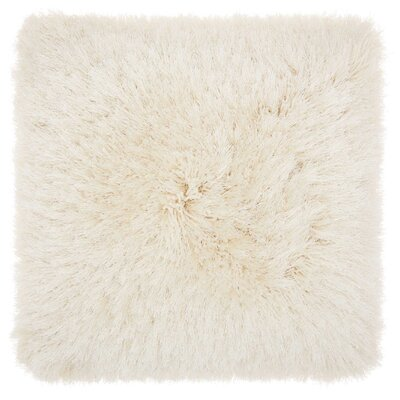 Shanelle Throw Pillow Color: Cream