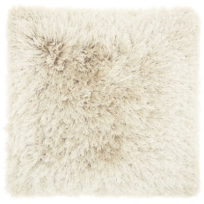 Shanelle Throw Pillow Color: Beige