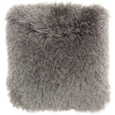 Shanelle Throw Pillow Color: Charcoal