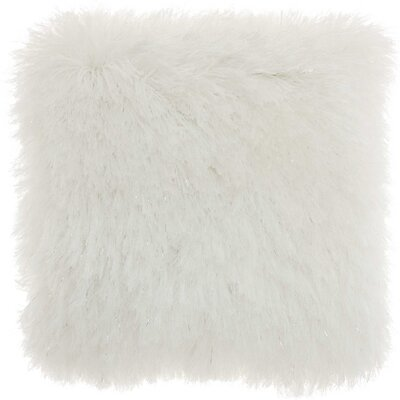 Shanelle Throw Pillow Color: White