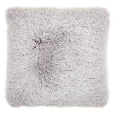 Shanelle Throw Pillow Color: Light Gray
