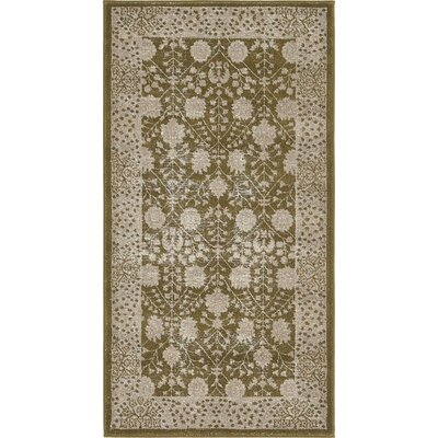 Britley Green Area Rug Rug Size: Rectangle 27 x 5