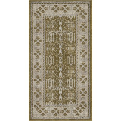 Britley Green Area Rug Rug Size: Rectangle 4 x 5 7