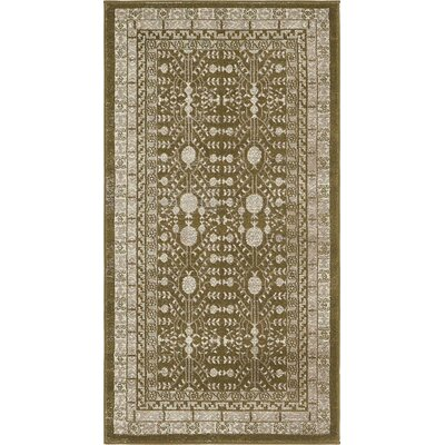 Cardwell Green Area Rug Rug Size: Rectangle 27 x 5
