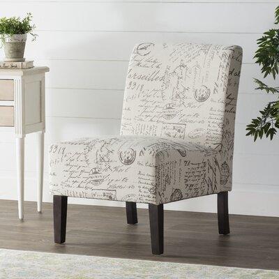 Marine Slipper Chair Upholstery: Beige